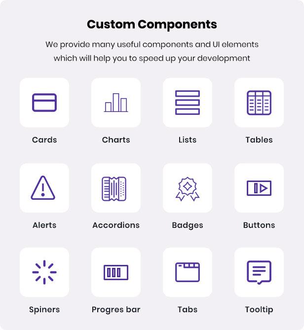 Rini-admin-template components